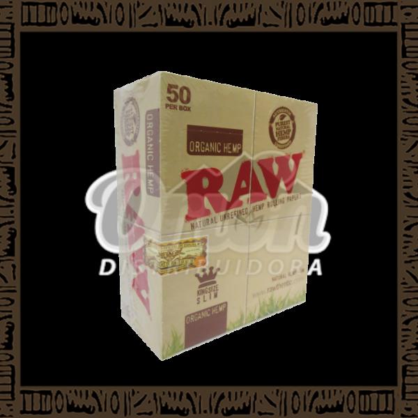 Caixa Raw Organic Hemp