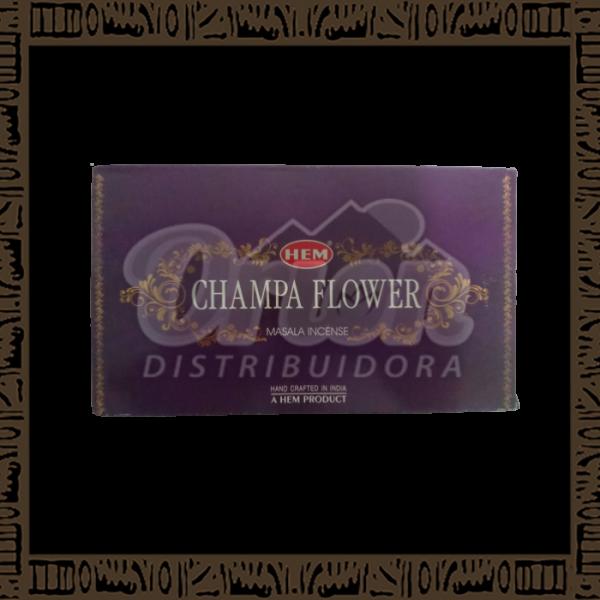 Caixa incenso Hem Champa Flower Massala