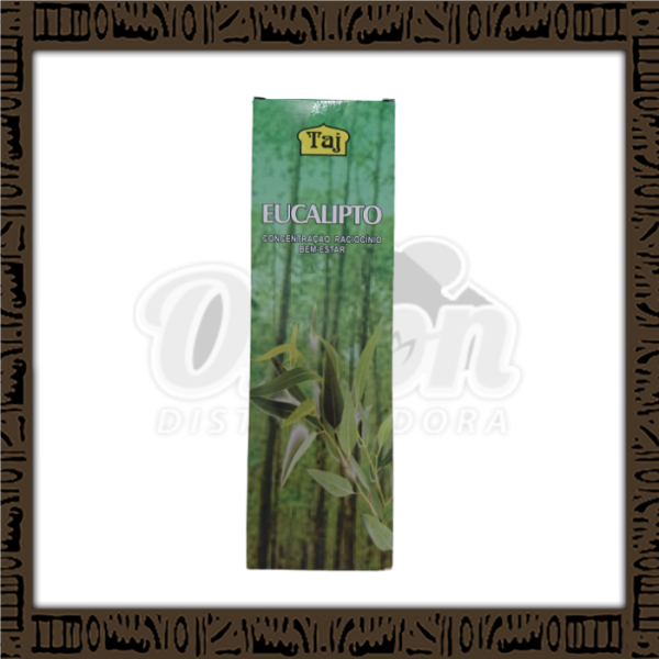 Caixa incenso Taj eucalípto