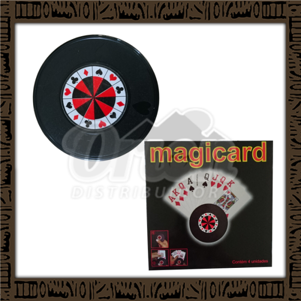 Magic card - suporte para cartas de baralho