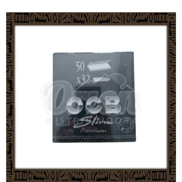 Caixa papel p/ cigarro OCB Slim Premium King Size c/50 unidades