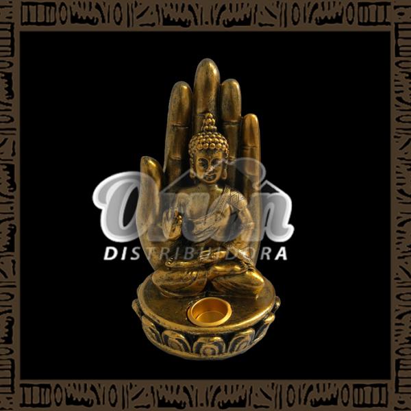 Enfeite de Resina Buda YRES-B03 - Mão