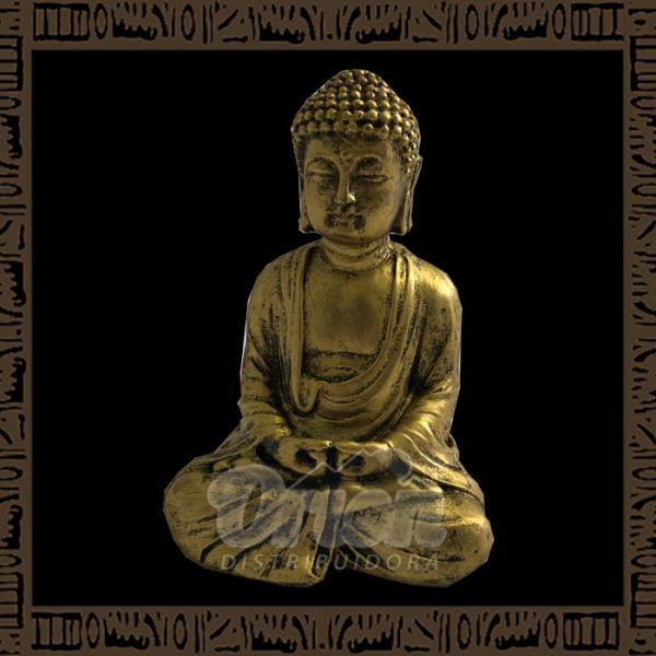 Enfeite de Resina Buda Zen - TRES-B01