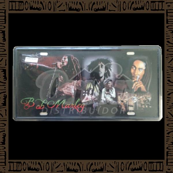 Quadro Decorativo de Parede 15x30 - Placa 001 Bob Marley