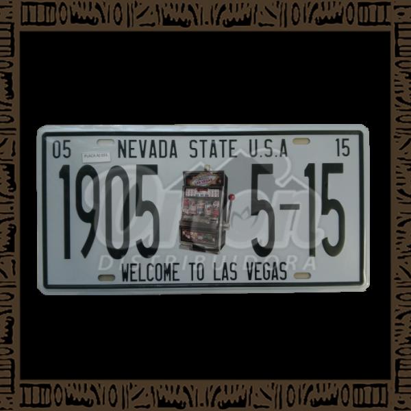 Quadro Decorativo de Parede 15x30 - Placa 031 Nevada Cassino - MXF17043