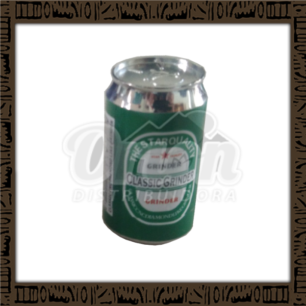 Pop Can Grinder metal Latinha 3 partes