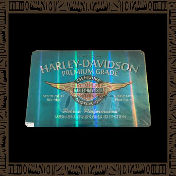 Quadro Decorativo de Parede 20x30 - Placa 038 Harley Davidson Premium Grade - YPLC-204