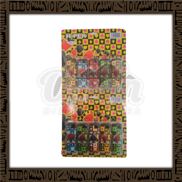 Cartela maçarico Hiper c/ 10 unidades - Naipes