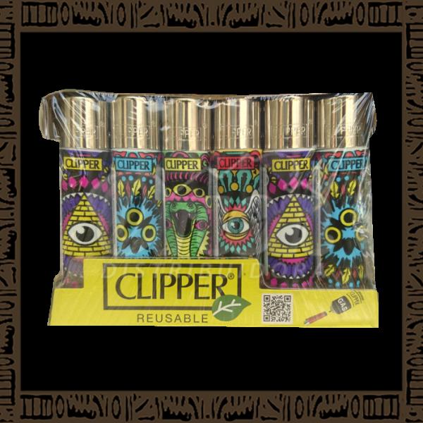 Caixa isqueiro Clipper CP11R Large Coleção Psy c/ 24 unidades