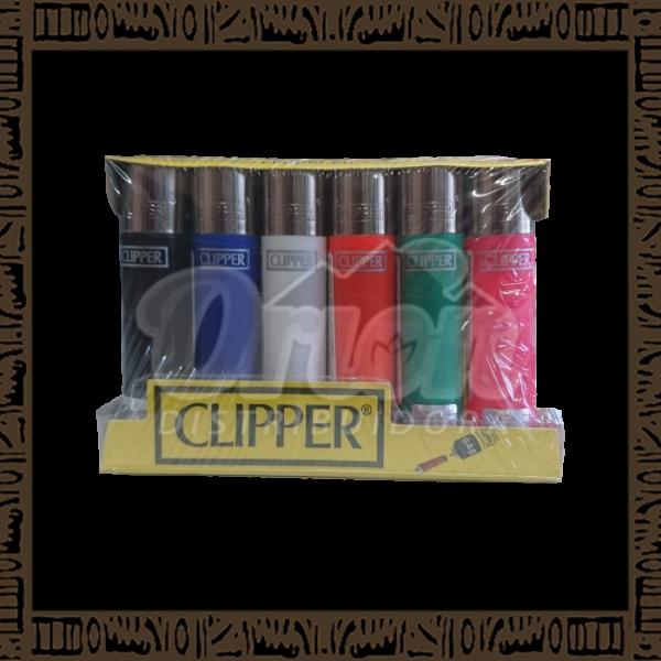 Caixa isqueiro Clipper CP11R Large Sólido c/ 24 unidades