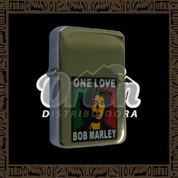 Isqueiro Star DAV-4 Prata - Bob Marley
