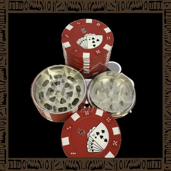 DK5006 - Triturador de Tabaco Poker 3 Partes