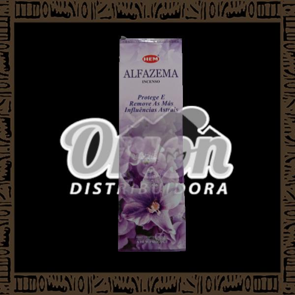 Caixa incenso Hem Alfazema c/ 25 unidades 8 varetas