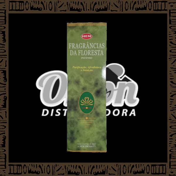 Caixa incenso Hem Fragrâncias da Floresta c/ 25 unidades 8 varetas