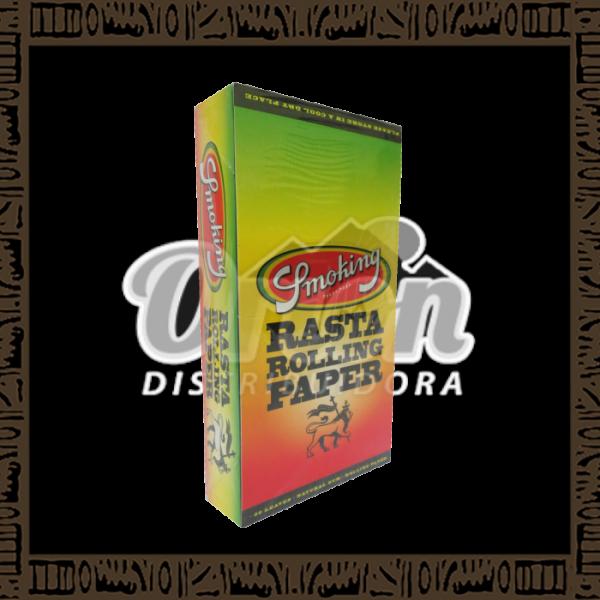 Caixa Seda Smoking Rasta Rolling 1/4 c/25 unidades