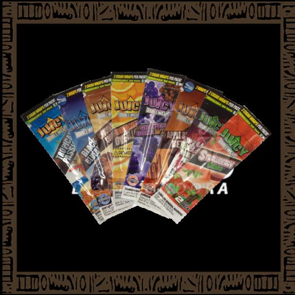 Caixa Blunt Juicy Sabores Sortidos c/25 unidades c/2 papeis cada