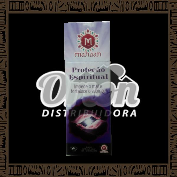 Caixa incenso Mahaan Proteção Espiritual c/ 25 unidades 7 varetas