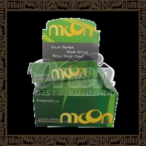 Papel p/ cigarro Moon Brasil c/ 50 unidades