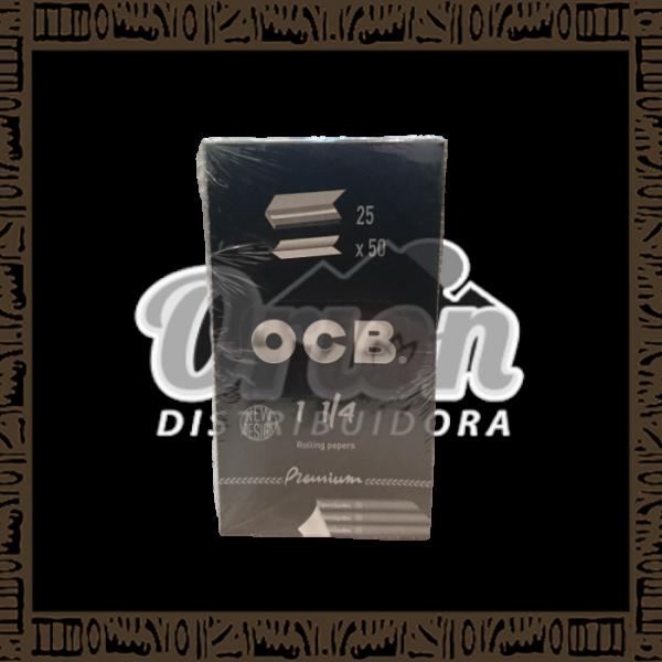Caixa Seda OCB Slim Premium 1 1/4 c/25 unidades