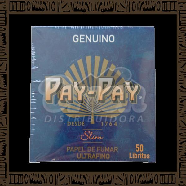 Seda Pay Pay Azul King Size com 50 Livretos