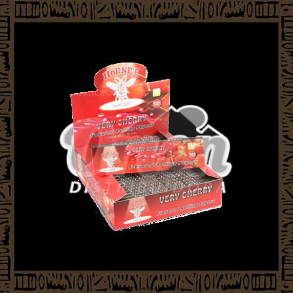 Papel p/cigarro Hornet Cereja/Very Cherry