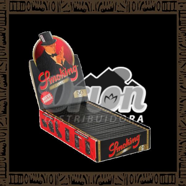 Caixa Seda Smoking Deluxe 1 1/4 c/25 unidades
