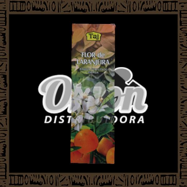 Caixa incenso Taj flor de laranjeira com 25 recipientes com 7 varetas cada