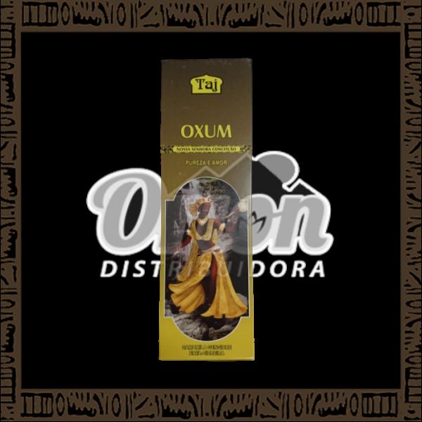Caixa incenso Taj Oxum com 25 recipientes com 7 varetas cada