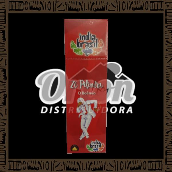 Caixa incenso Índia Brasil Zé Pilintra c/ 25 unidades 8 varetas