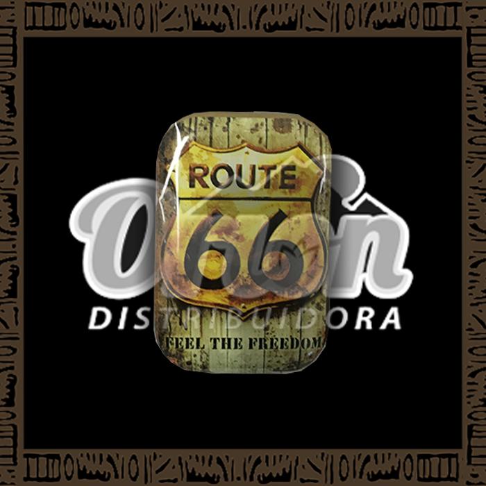 Mini Lata de Metal Route 66