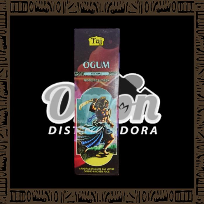 Caixa incenso Taj Ogum